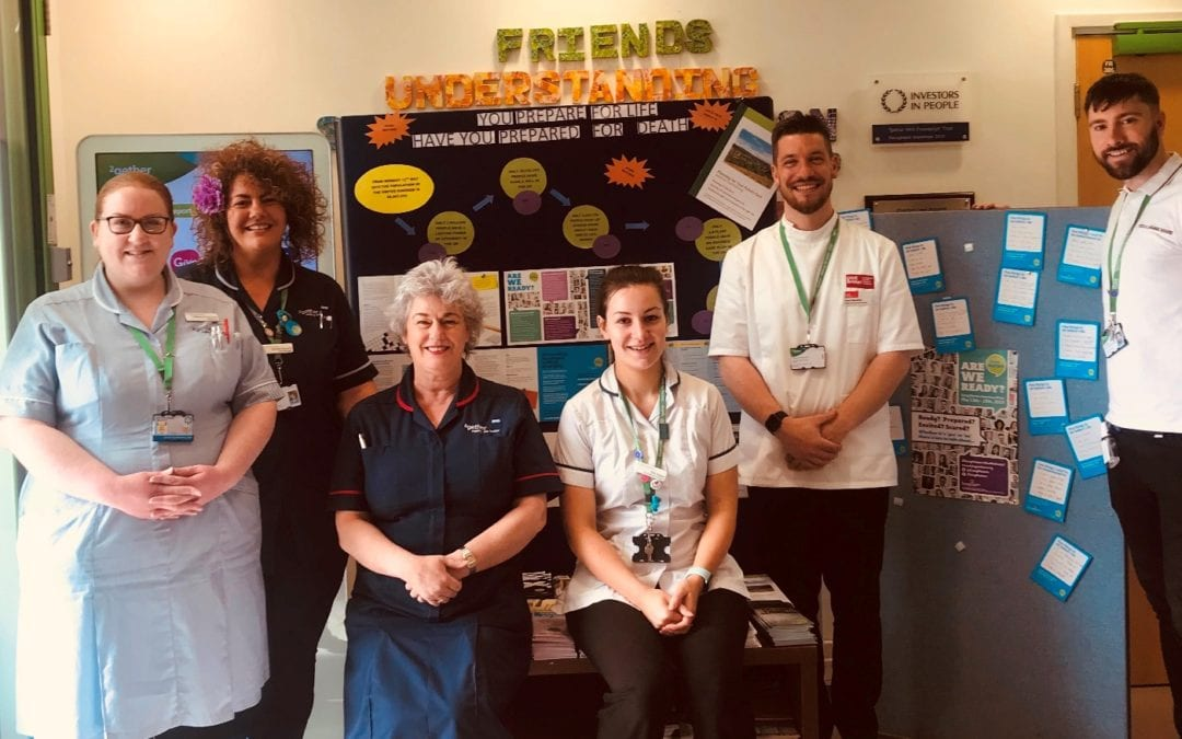 Dying Matters Week – Charlton Lane staff say 'Be Ready'