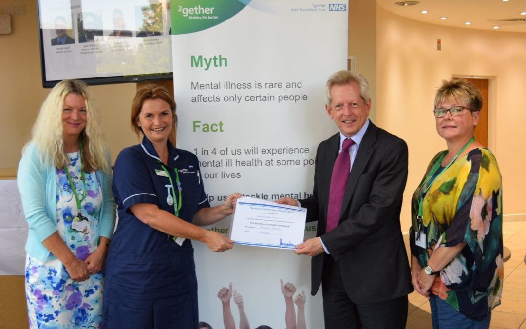 2gether Nurses Shortlisted in NHS Parliamentary Awards