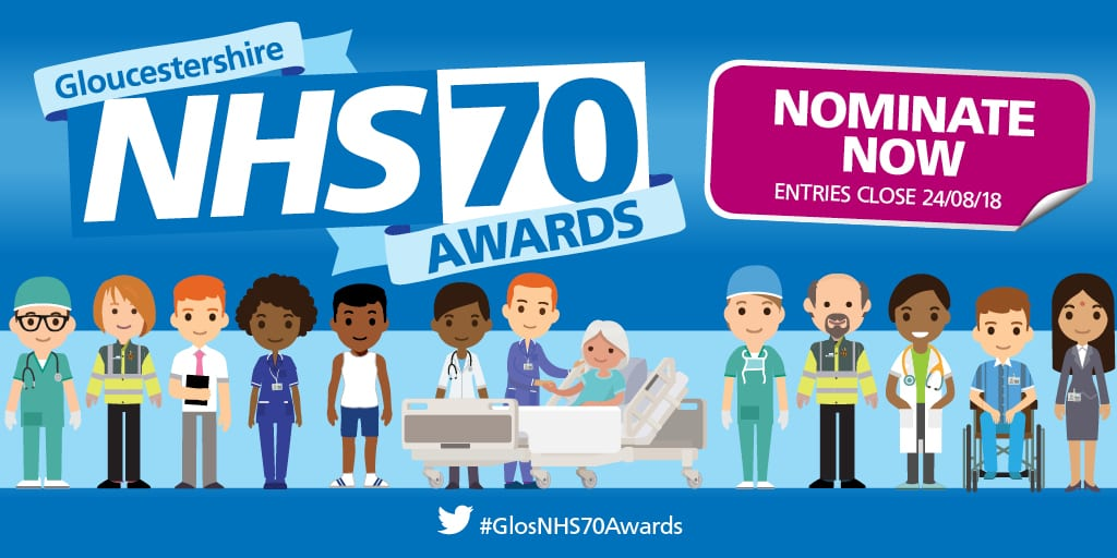Awards launched as NHS70 birthday celebrations get into full swing